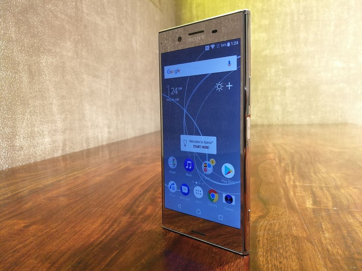 Sony Xperia XZ Premium comes with a 4K display