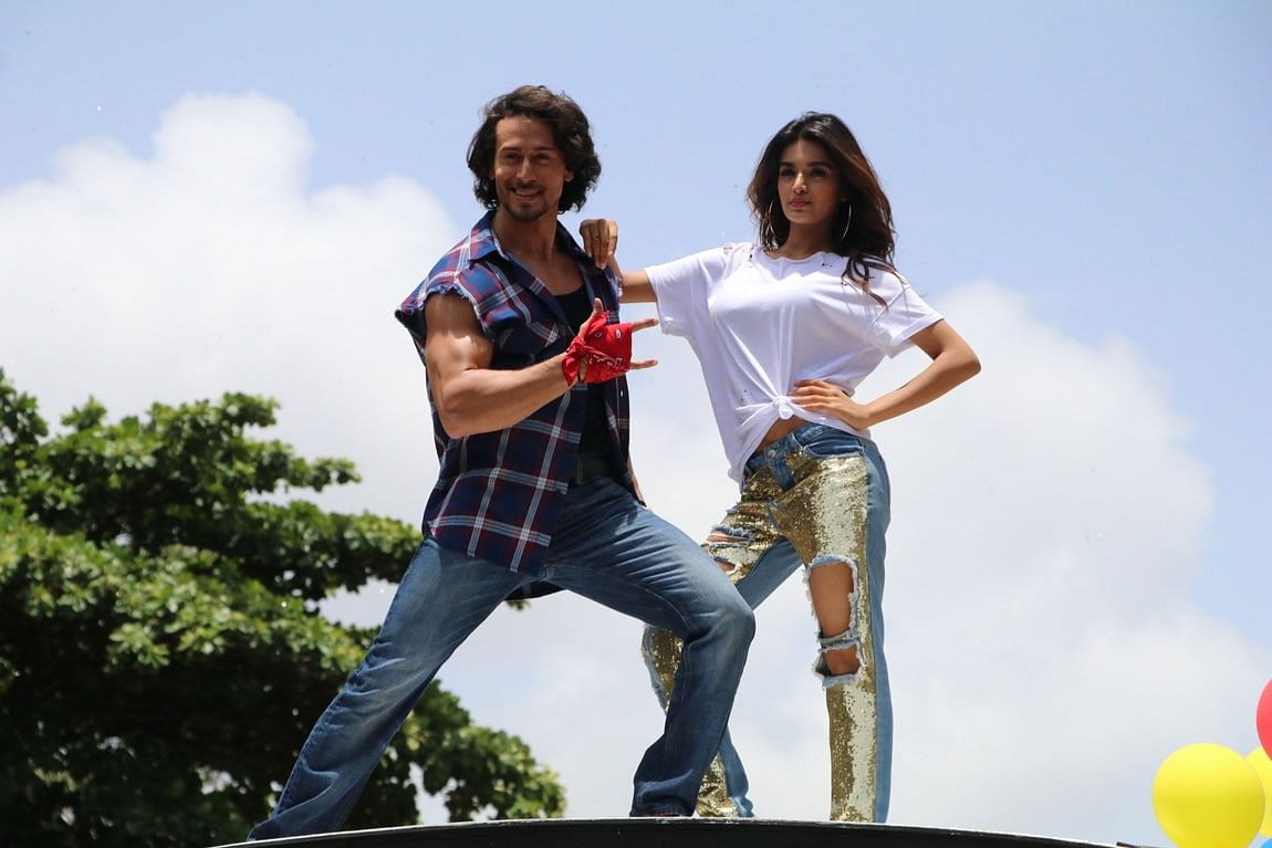 Tiger and Nidhi will soon be seen in <i>Munna Michael. </i>(Photo: Yogen Shah) &nbsp;