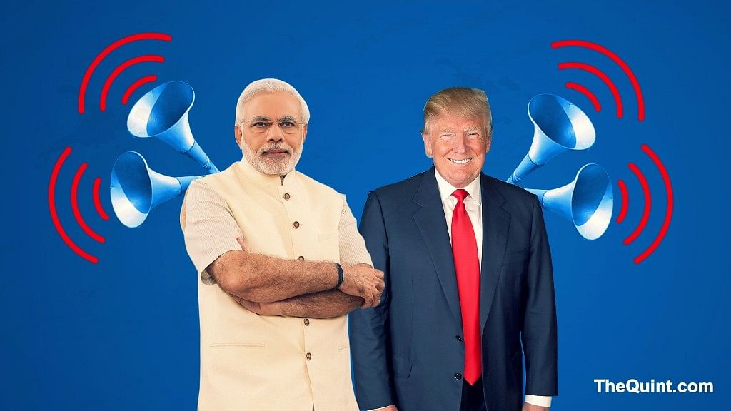 Modi is expected to meet Trump between 25 and 26 June. (Photo: <b>The Quint</b>)