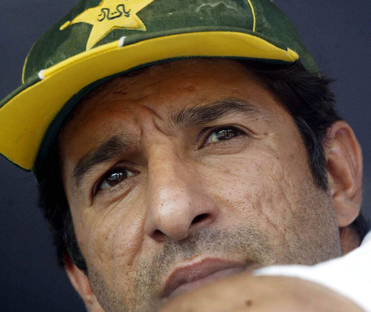 Wasim Akram during the 2003 World Cup. The tournament was his last outing for Pakistan. (Photo: Reuters)