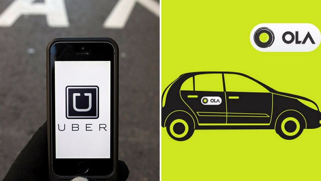 Ola is Uber's fiercest rival in the Indian cab-hailing service market.