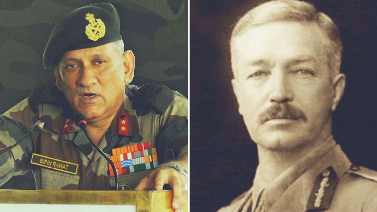 Historian Partha Chatterjee has drawn flak for comparing Army Chief Bipin Rawat to General Dyer. (Photo: <b>The Quint</b>)