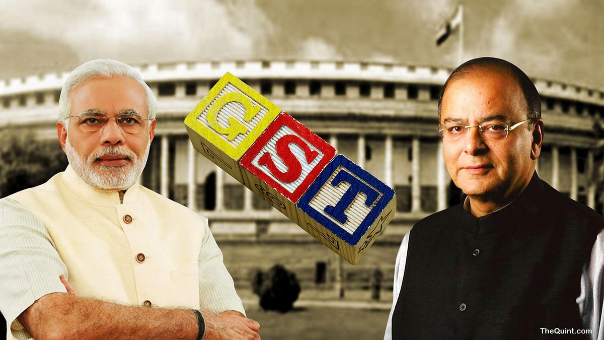 GST is slated to come into effect from 1 July.