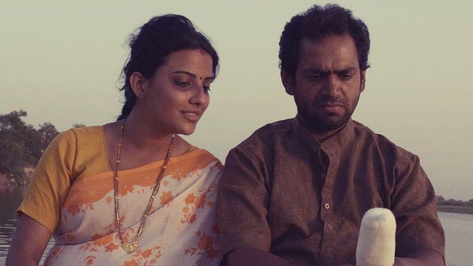 Jyoti Sethi and Sharib Ali Hashmi in a scene from <i>Phullu</i>.&nbsp;