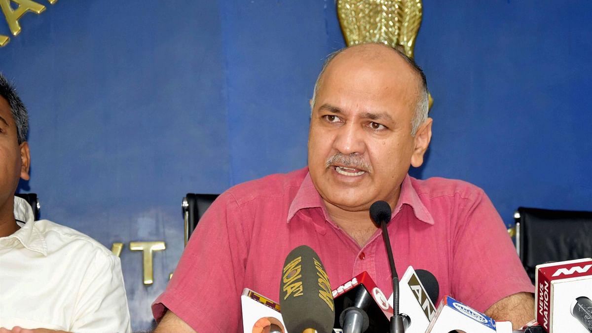Manish Sisodia file photo.
