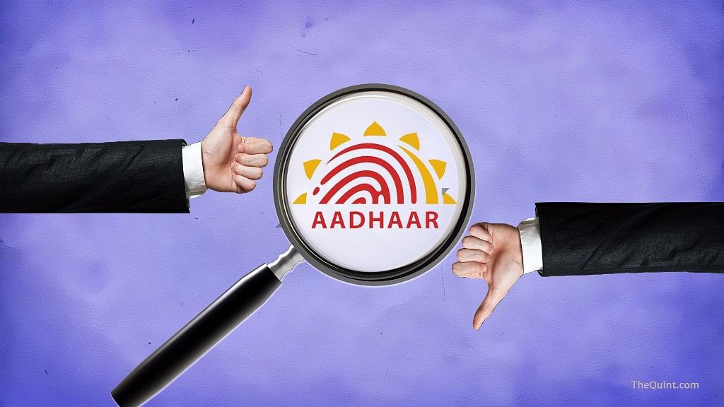 However, the deadline for submission of Aadhaar number would be 30 September 2017 in case of northeasten states. (Photo: iStock/ Altered by <b>The Quint</b>)