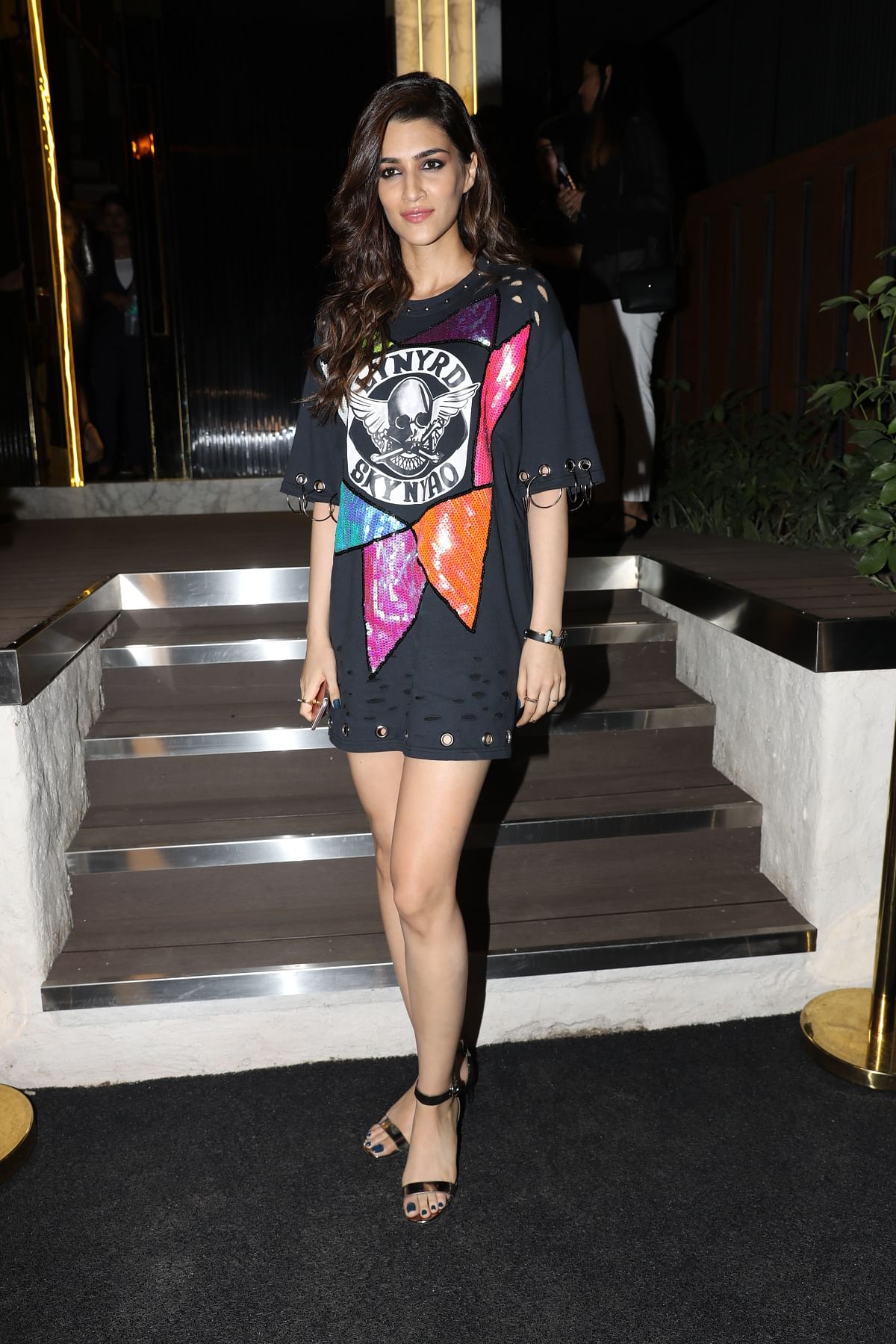 Kriti Sanon made an appearance at the event. (Photo: Yogen Shah)