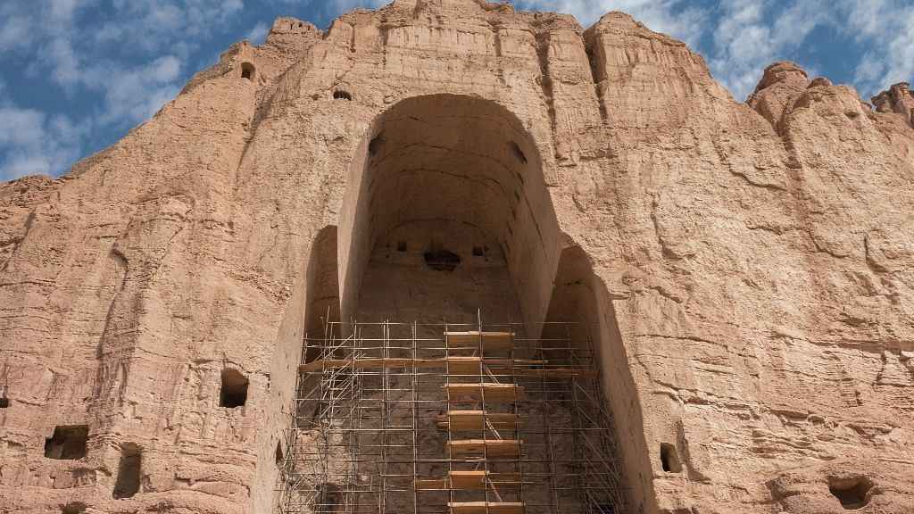 The 1700-year-old Bamiyan Buddhas were destroyed by the Taliban in 2001 with dynamite. (Photo: iStock)