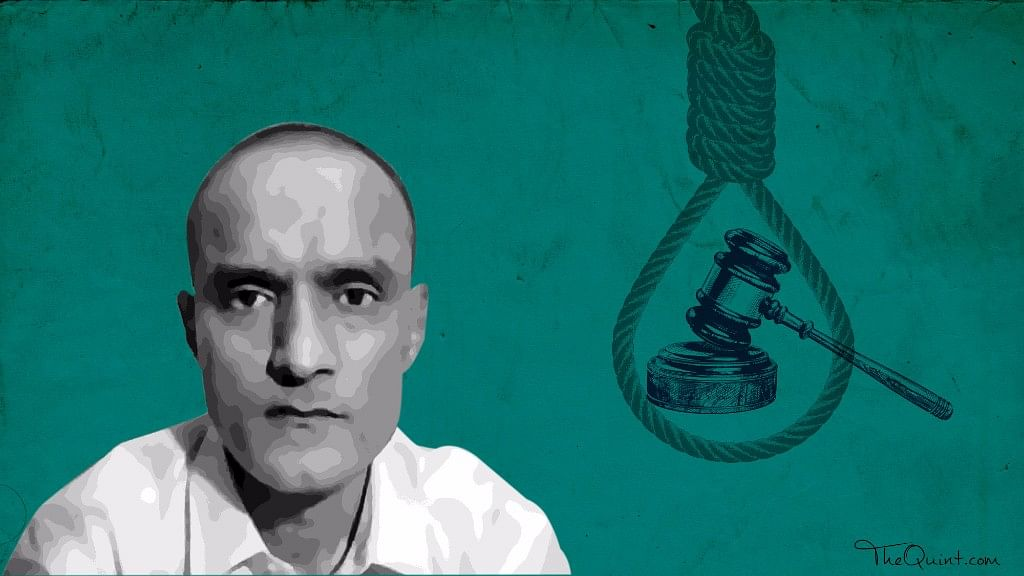 """Kulbhushan Jadhav was sentenced to death by a Pakistani military court on charges of """"involvement in espionage and sabotage activities"""" against the country. (Photo: <b>The Quint</b>)"""