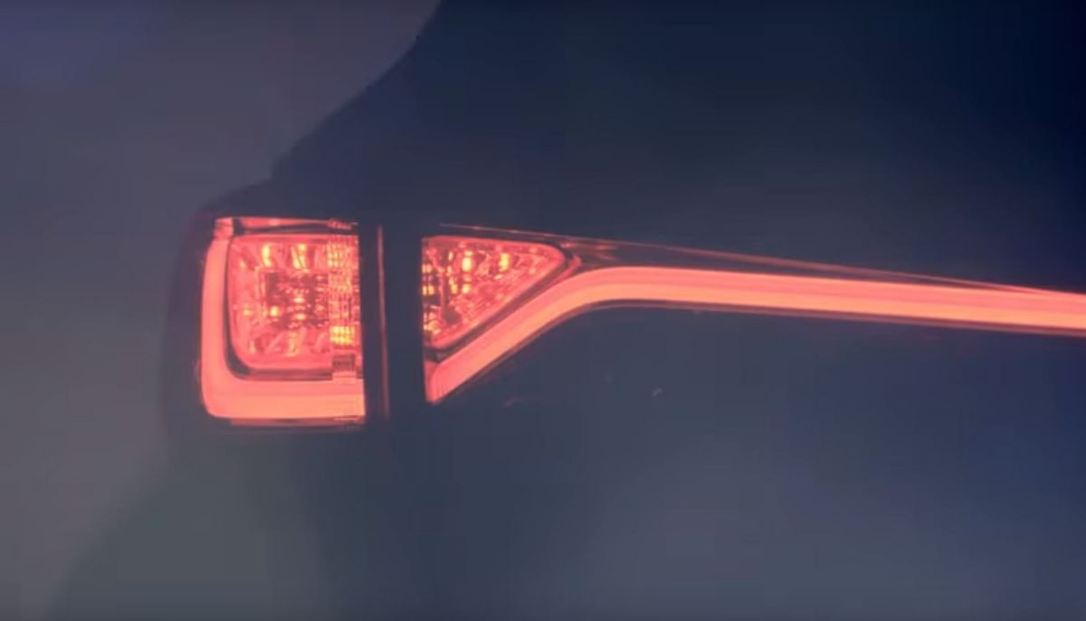 Boomerang-shaped LED tail lamps could be an exciting addition. (Photo Courtesy: YouTube screen grab)