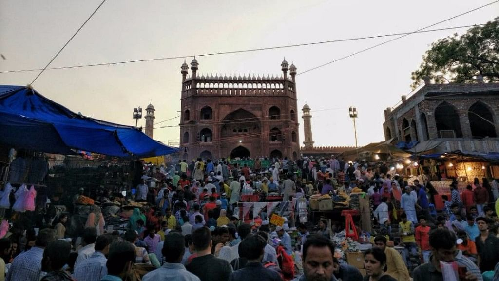 Jama Masjid, one of the largest mosques in India.