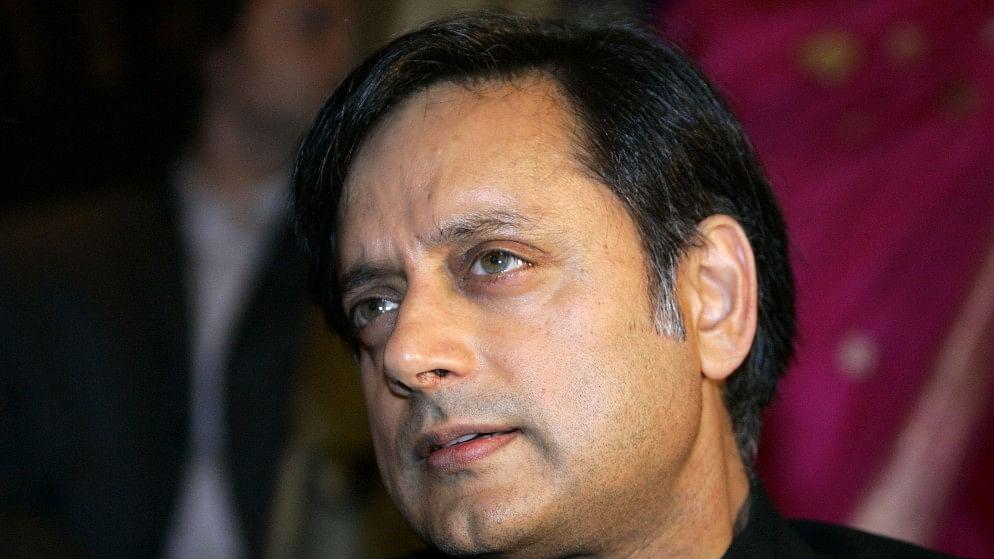 Shashi Tharoor.