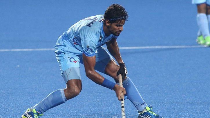 File photo of Rupinder Pal Singh. (Photo: Hockey India)