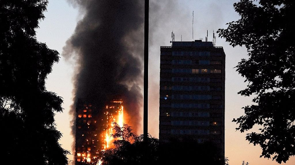 London Fire in Photos: Grenfell Tower Goes Up in Flames