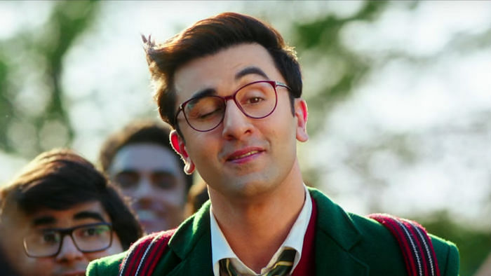 Ranbir Kapoor's got a new bestie on the sets of<i> Jagga Jasoos</i>. (Photo courtesy: UTV Motion Pictures)