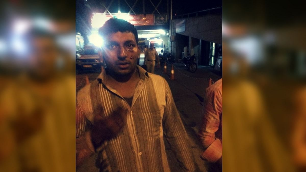 Cattle trader Ashu was assaulted at Kalkaji, Delhi in April 2017 (Photo: Meghnad Bose/<b>The Quint</b>)