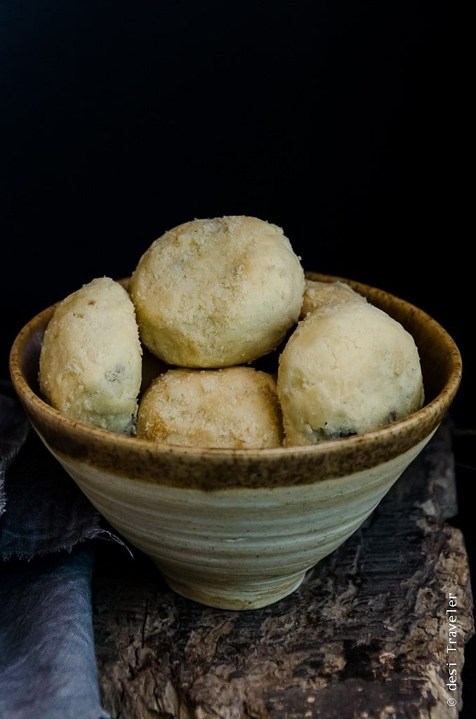 A Parsi delicacy, tender and flaky, the Nan Khatai. (Photo Courtesy: Lavaash by Saby and SodaBottleOpenerWala)