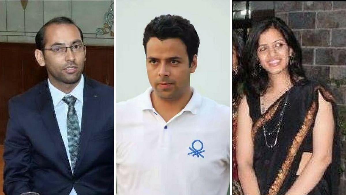 Zafar Iqbal, Bilal Mohiuddin and Ayushi Sudan. (Photo Courtesy: Facebook)