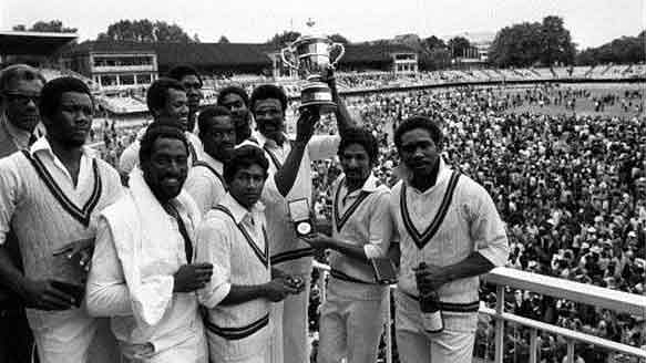 """West Indies won the first World Cup in 1975. (Photo Courtesy: Twitter/<a href=""""https://twitter.com/Top1OReview"""">@Top1OReview</a>)"""