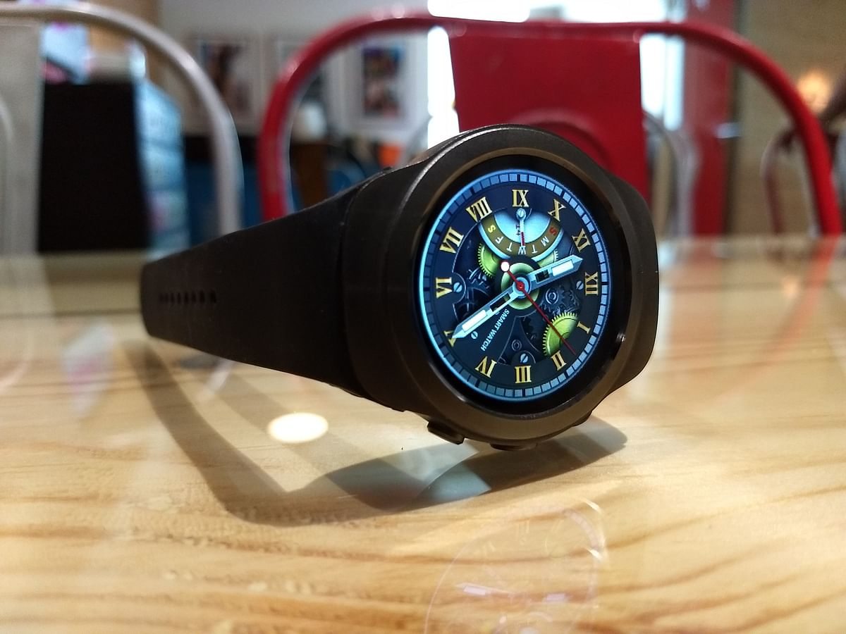 Stand-by time of the watch is 3 days. (Photo: <b>The</b> <b>Quint</b>)