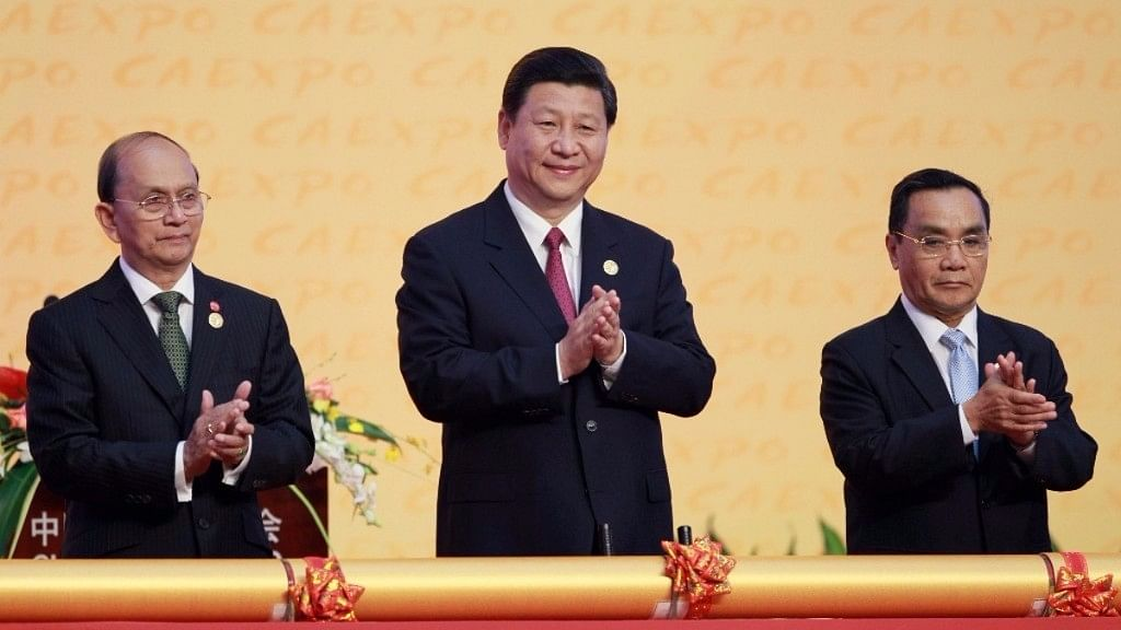 """On the border of China and Kazakhstan, an international free trade zone has become a showpiece of Chinese President Xi Jinping's """"Belt and Road"""" Initiative. (Photo: Reuters)"""
