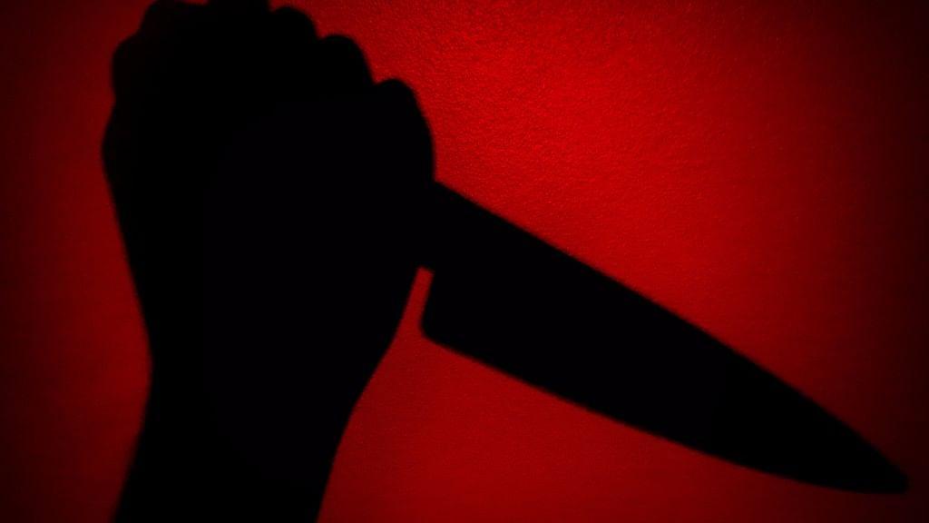 Knife silhouette. Representational image. (Photo: iStock)