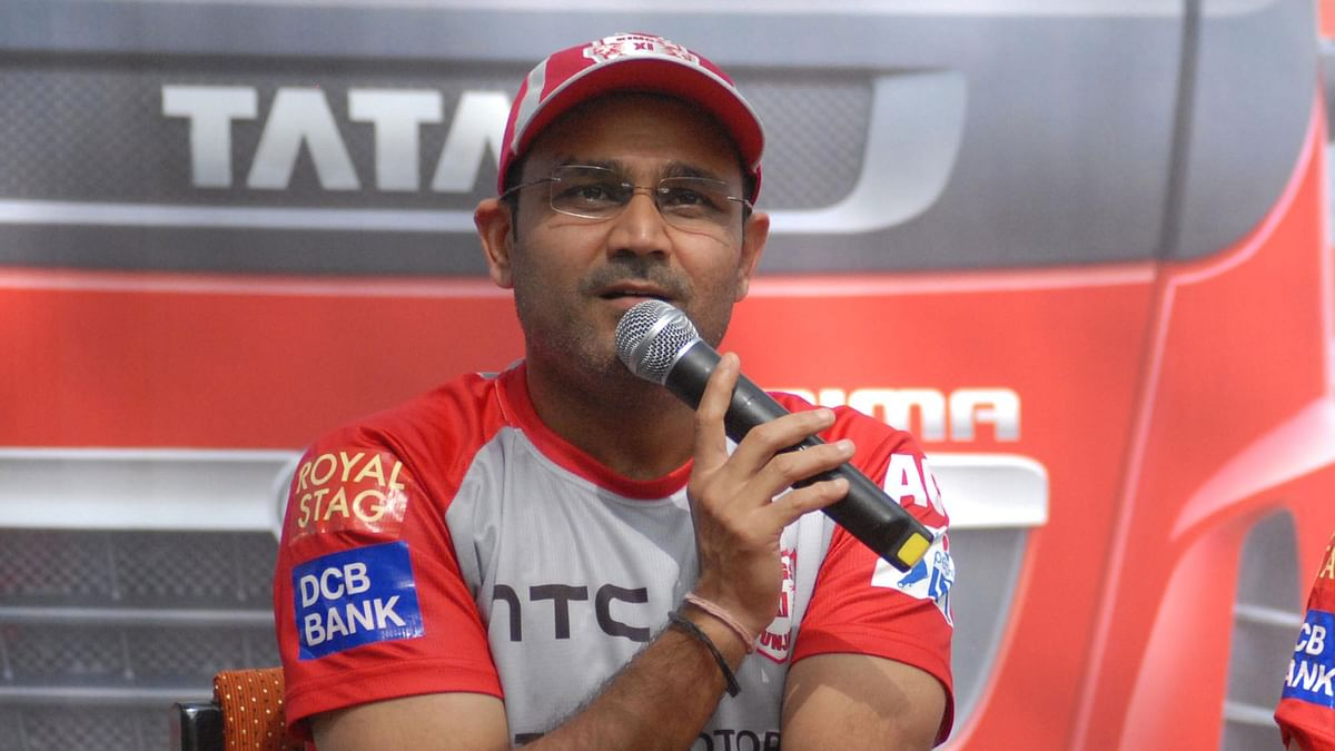 File photo of Virender Sehwag. (Photo: IANS)