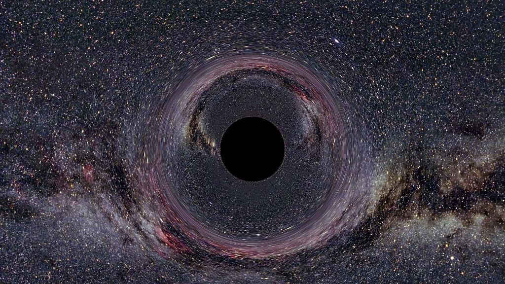 The black hole in the milky way. Image used for representational purpose. (Photo Courtesy: Wikimedia Commons)