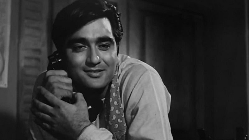Sunil Dutt in a still from 'Yaadein' (1964).