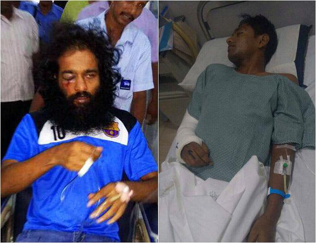 Sooraj (left) and Manish (right). (Photo Courtesy: The News Minute)