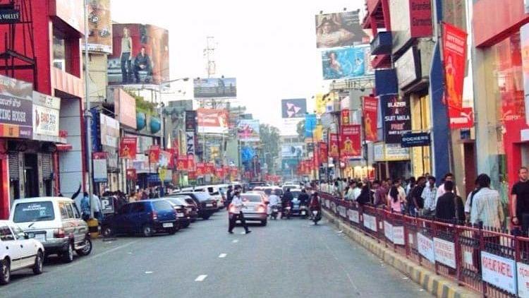 Brigade Road in Bengaluru.