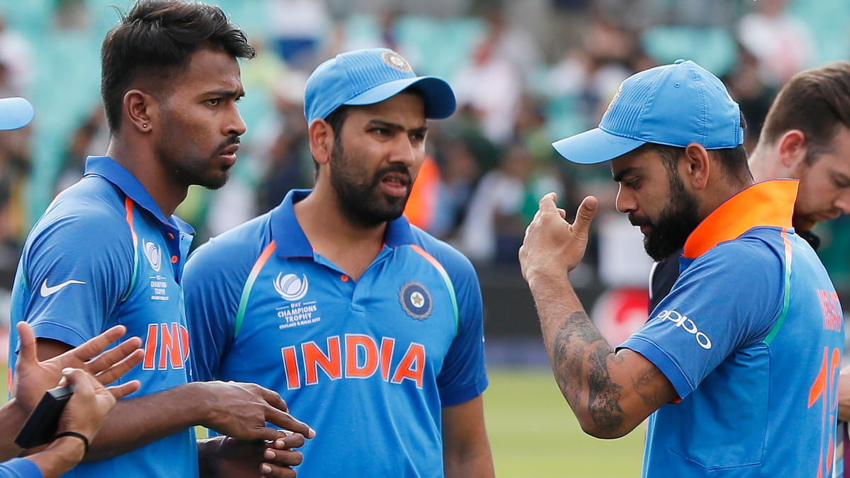 When team India lost the finals. (Photo: AP)