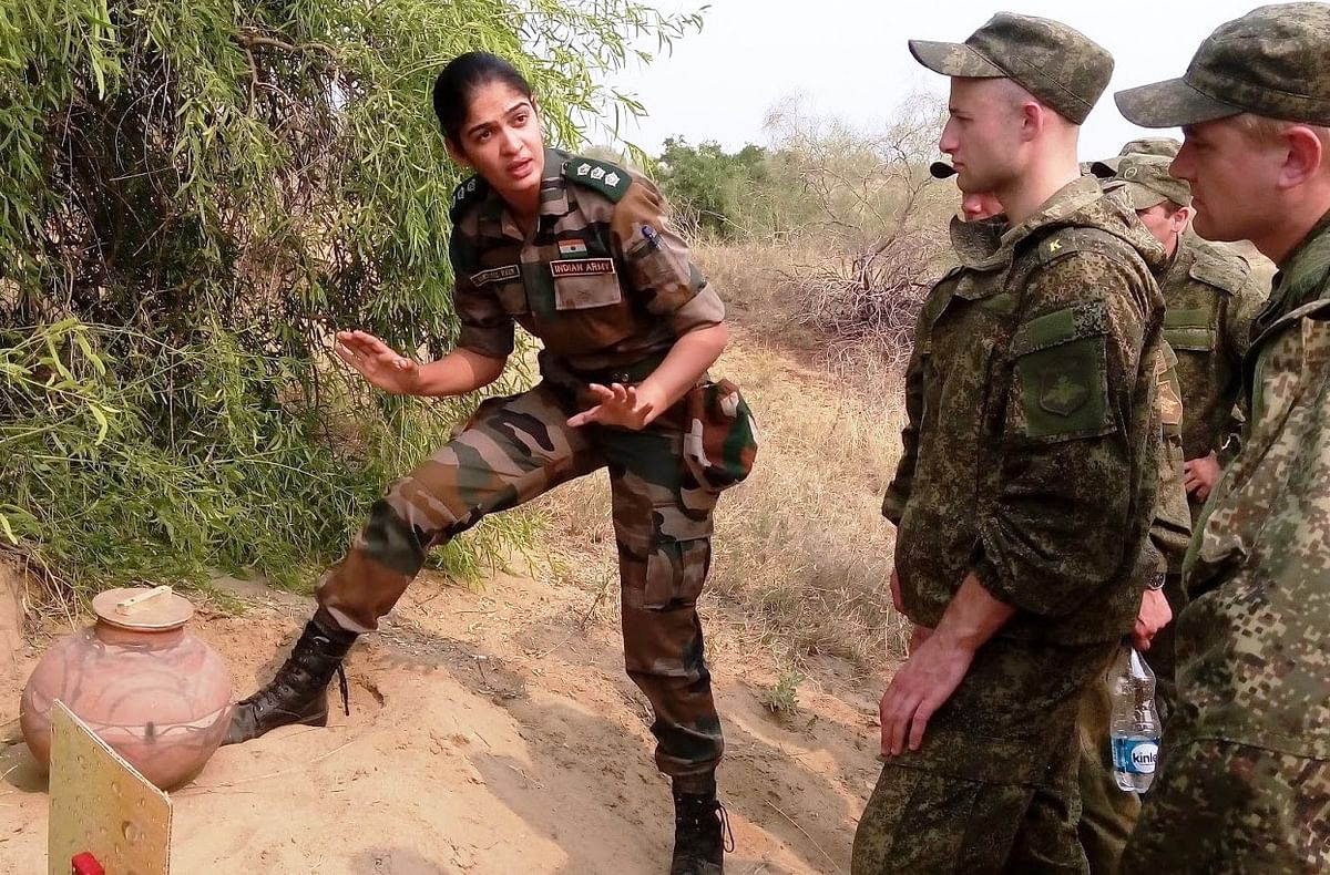 Indian Army is gearing towards inducting women in combat roles. (Photo: Wikimedia Commons)