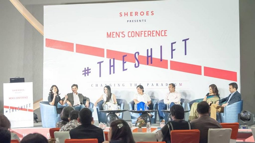 Power couples at the conference discuss how striving for gender balance is an evolving process.