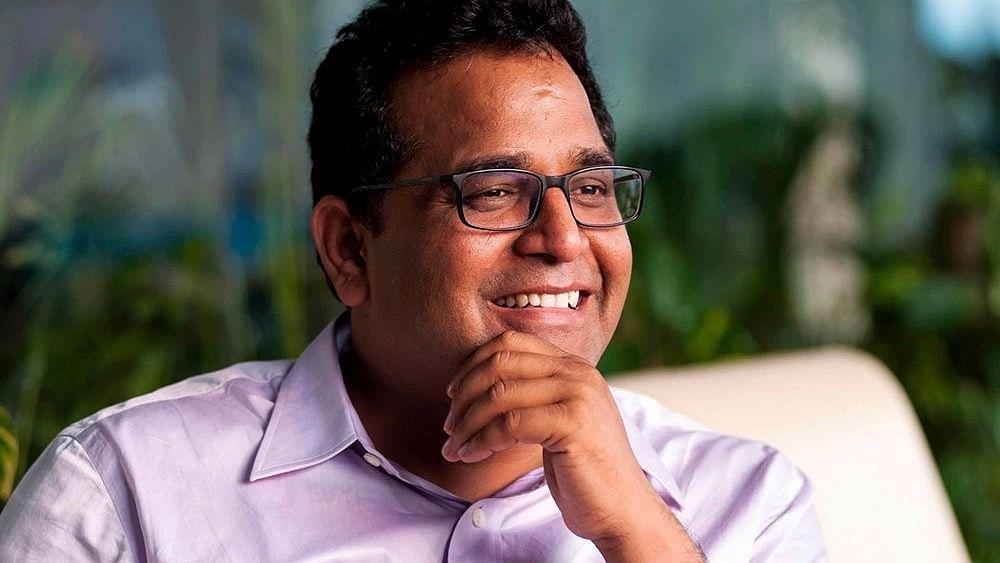 """Paytm founder Shekhar Sharma (Photo Courtesy: Twitter/<a href=""""https://twitter.com/uttaminator/status/864759678479106050"""">@uttaminator</a>)"""