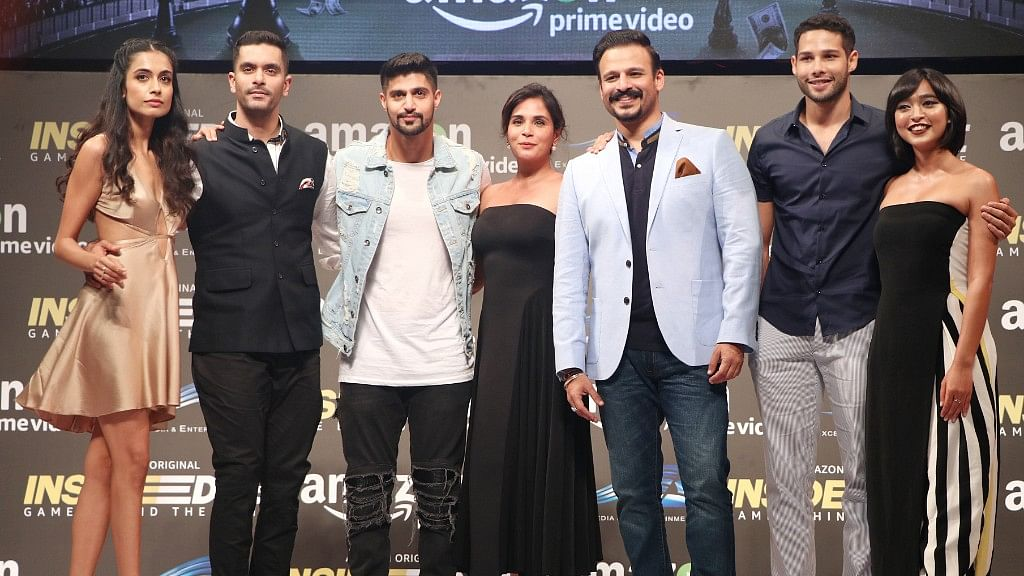 The cast of <i>Inside Edge</i> at the trailer launch. (Photo: Yogen Shah)