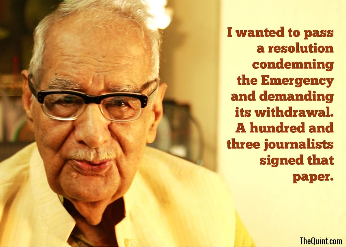 Kuldip Nayar – the Editor Who Refused to Bend During the Emergency