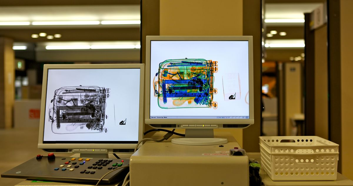X-ray machines used by the Customs Officers. (Photo: iStock)
