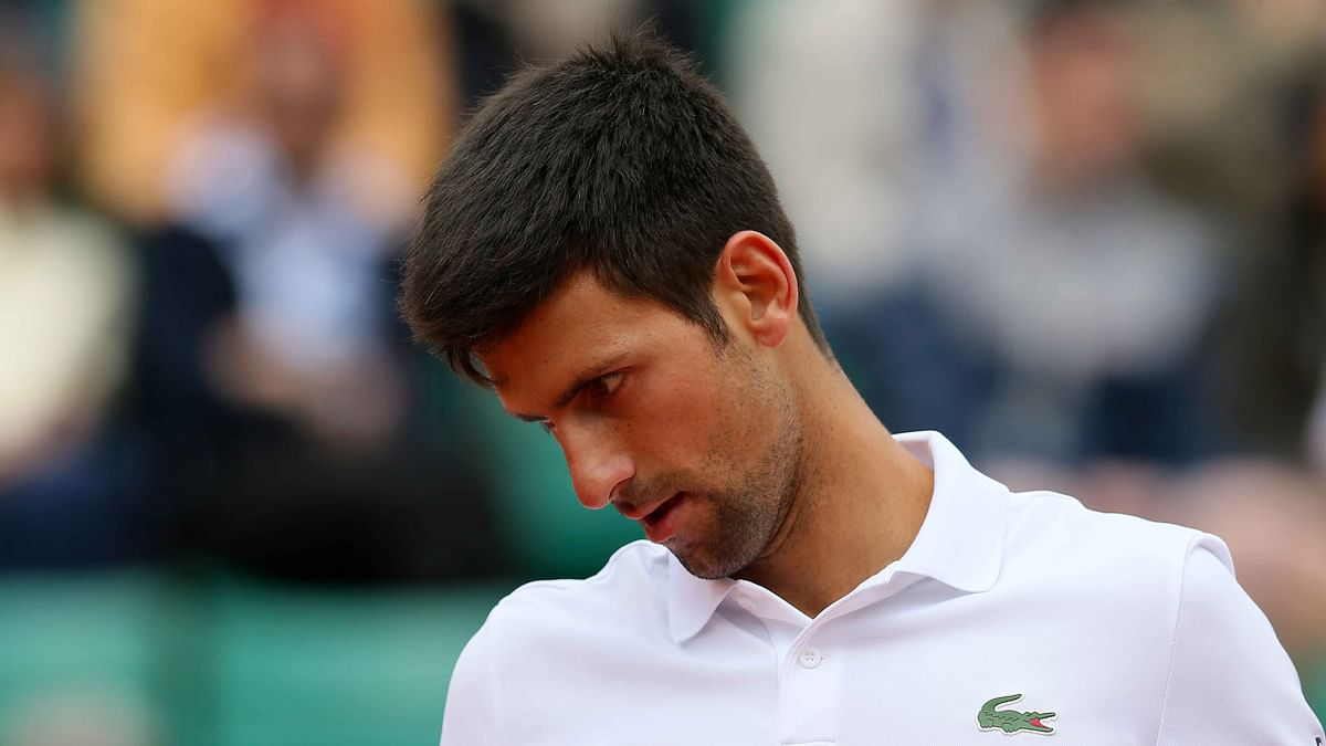 Novak Djokovic was knocked out of the French Open. (Photo: AP)