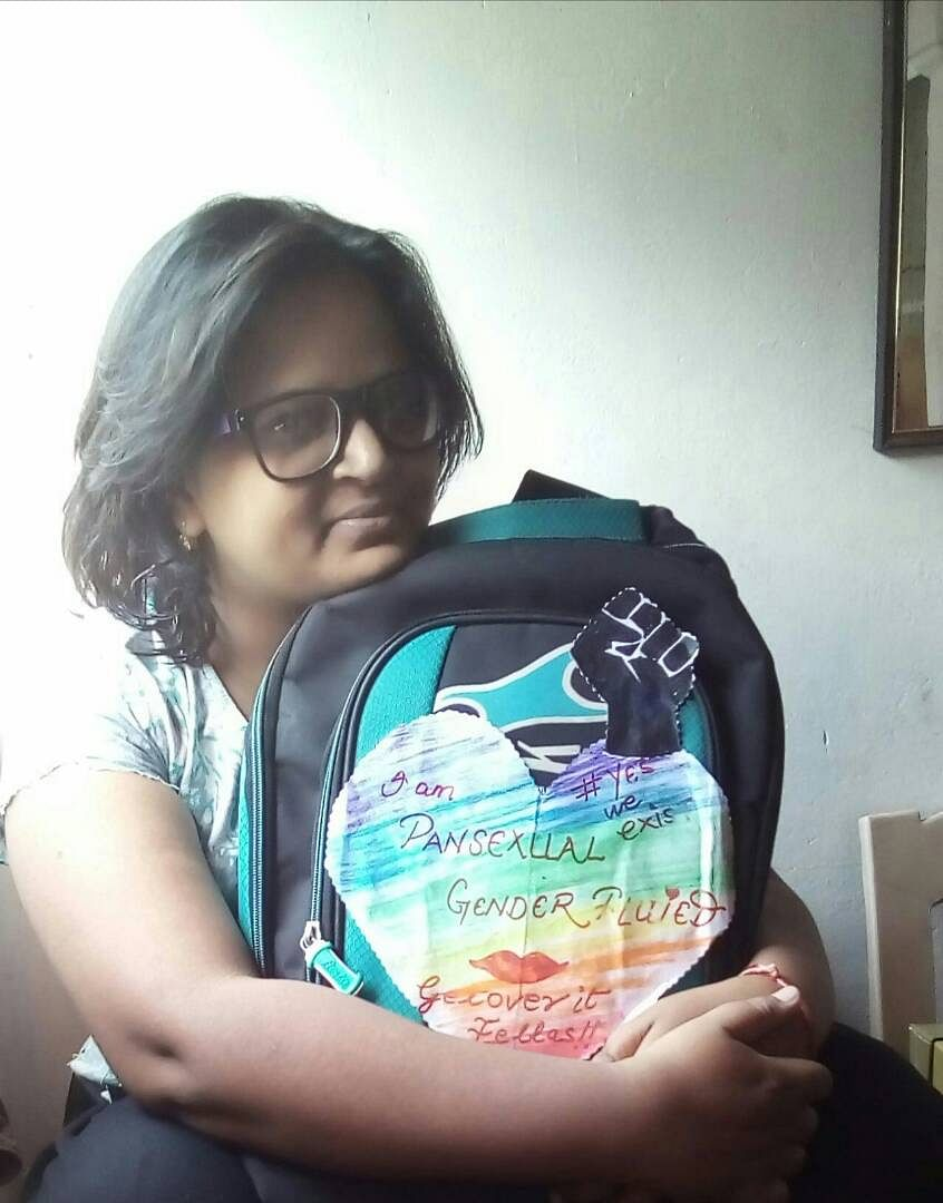 Toshi Pandey, a research student at Allahabad University. (Photo Courtesy: Toshi Pandey)