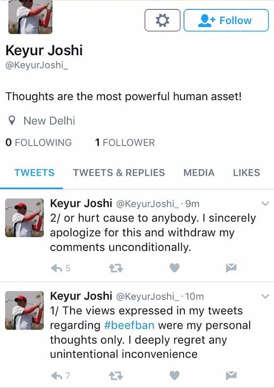 Trolls Force MakeMyTrip Founder to Delete Account for Beef Remarks