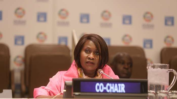 Morning session of the Ocean Conference at the UNHQ, NY. (Photo courtesy: Ocean Conference/UN)