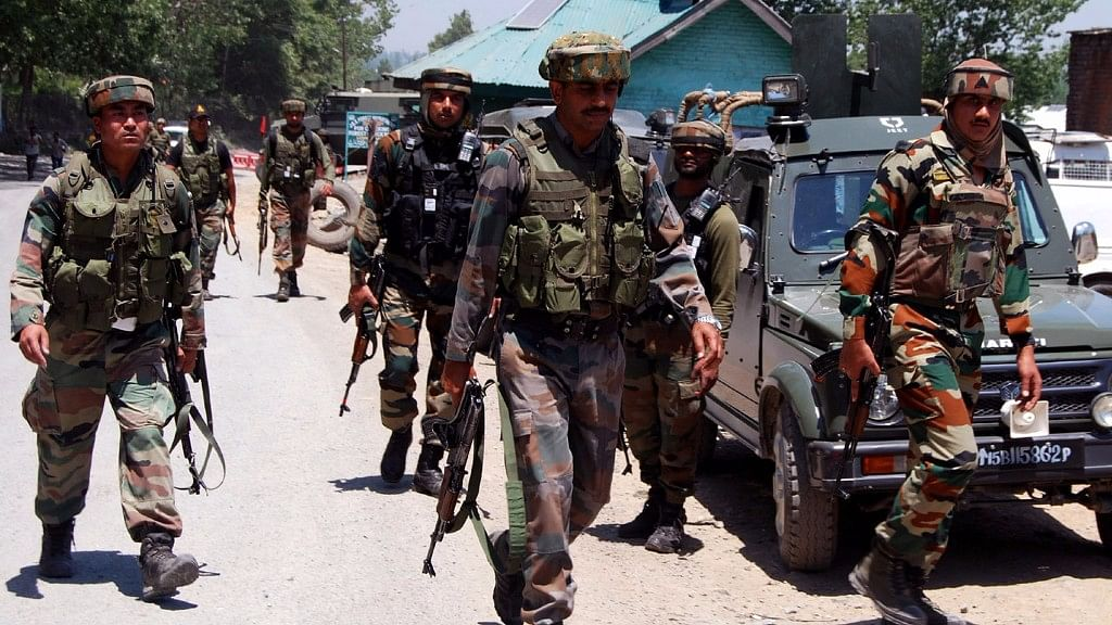 Troops engaged the heavily-armed militants, who tried to escape taking advantage of the thick forest cover. (Photo: IANS)