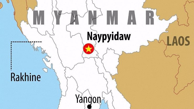 The country's Commander-in-Chief confirmed that the wreckage had been found off the coast of Launglon, in southern Myanmar. (Photo: PTI)