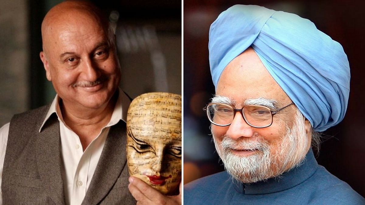 Anupam Kher has been signed on for the film based on Sanjaya Baru's book. (Photo courtesy: altered by <b>The Quint</b>)