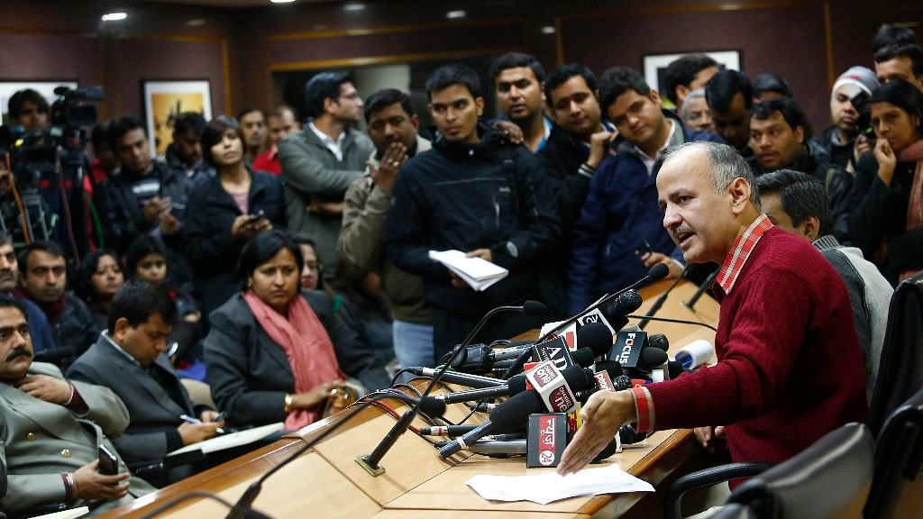 The visit was to talk over some irregularities concerning the Delhi government's 'Talk to AK' campaign. (File Photo: Reuters)