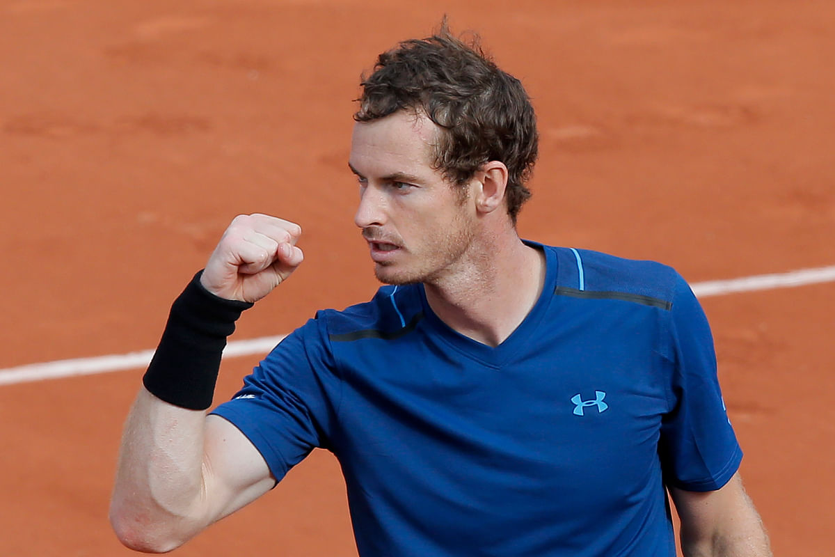 File photo of Andy Murray. (Photo: AP)