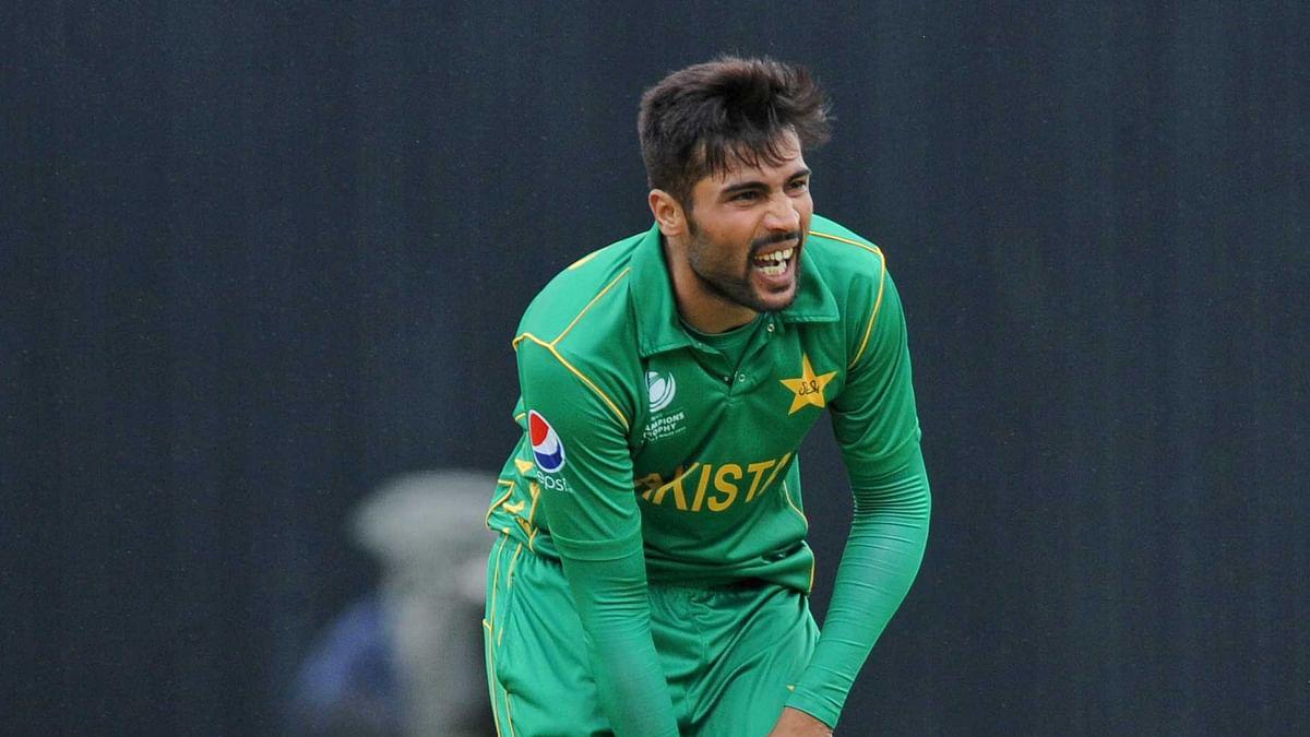 Amir missed the semi-final against England. (Photo: AP)