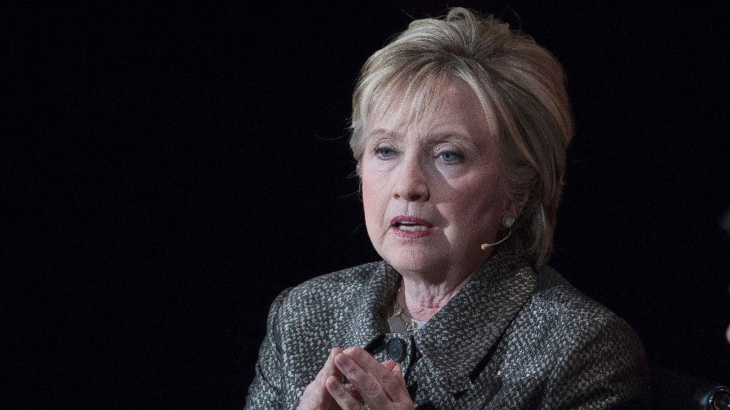 File image of Hillary Clinton. (Photo: AP)