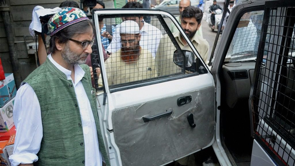 NIA's Terror Funding Charge Sheet Names Yasin Malik, 4 others